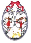 EASTER WALL PLAQUES