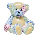 HEREND SMALL TEDDY BEAR