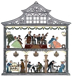 HOUSE SCENES WALL PLAQUES