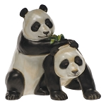 HEREND 2009 KINGDOM CLASSIC PANDA PAIR