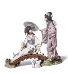 "LLADRO ""SPRINGTIME IN JAPAN"""