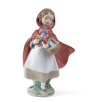 "LLADRO ""LITTLE RED RIDING HOOD"""