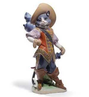 "LLADRO ""PUSS IN BOOTS"""