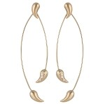 "KELIM ""CHILI"" EARRINGS 14KT GOLD"