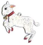 WILHELM SCHWEIZER LITTLE LAMB ORNAMENT