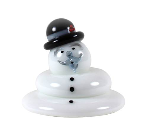 Vitrix Burl Ives Melting Snowman