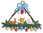 WILHELM SCHWEIZER EASTER CELEBRATION ORNAMENT