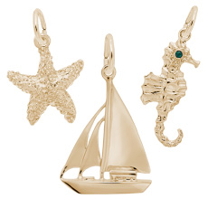 SEA LIFE & NAUTICAL CHARMS