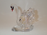 PRECIOSA CRYSTAL BEAUTIFUL SWAN  FIGURINE