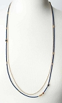 ANNE VAUGHAN DESIGNS CLEOPATRA SIMPLE MULTISTRAND LAYER NECKLACE