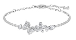 SWAROVSKI CRYSTAL EDEN BANGLE BRACELET FLOWERS AND BUTTERFLIES