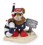 WEE FOREST FOLK CATFISH COVE RED WHITE AND BLUE LTD
