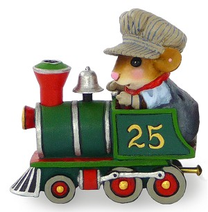 "Wee Forest Folk ""Wonderland Express Engine"""