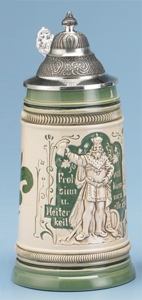 King Gambrinus Stein