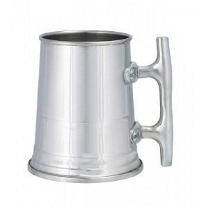 "Woodbury Pewter ""Nautical Cleat"" Tankard"