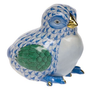 "Herend ""Baby Chick"" Blue"