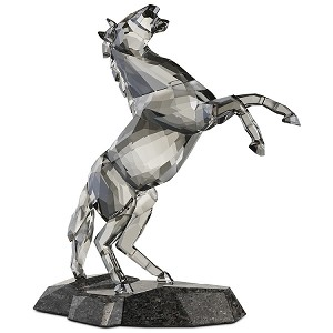 "Swarovski ""Stallion"" on Granite Base"