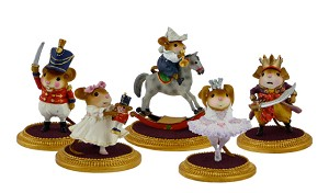 "Wee Forest Folk ""The Nutcracker Set"""