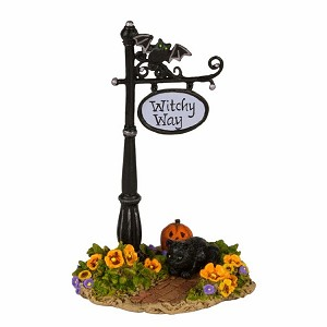 "WEE FOREST FOLK ""WITCHY WAY SIGN"""