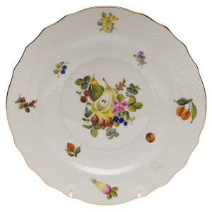 "Herend ""Fruits & Flowers"" Salad Plate"