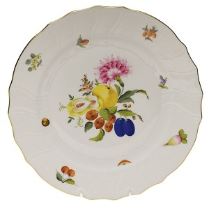 "Herend ""Fruits & Flowers"" Dinner Plate"