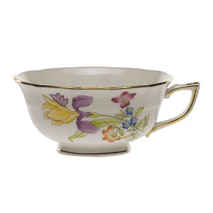 "Herend ""Antique Iris"" Tea Cup Motif 1"