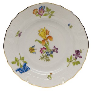 "Herend ""Antique Iris"" Bread & Butter Plate Motif 4"