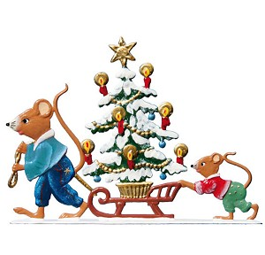 The Mice Family Christmas Tree