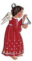 Angel with Triangle Ornament