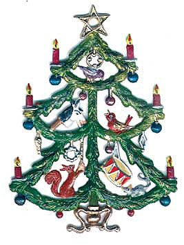 Tree with Toys Ornament