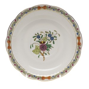 "Herend ""Windsor Garden"" Tea Saucer"