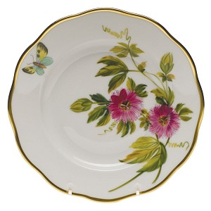 "Herend ""Passion Flower"" Salad Plate"