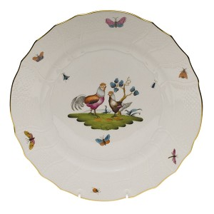 "Herend ""Chanticleer"" Dinner Plate Motif 1"