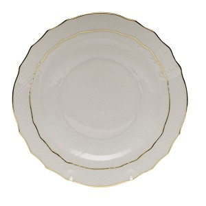 "Herend ""Golden Edge"" Salad Plate"