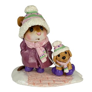 "WEE FOREST FOLK ""CHILLY DOG"" PURPLE LTD ED"
