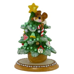 "Wee Forest Folk ""Christmas Tree"" Green"