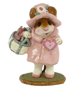 "Wee Forest Folk ""Have A Heart"" Pink"