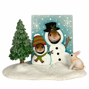 "WEE FOREST FOLK ""SNOWMAN SMILES"" LTD ED"