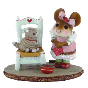 "Wee Forest Folk ""My Valentine Kitty"""