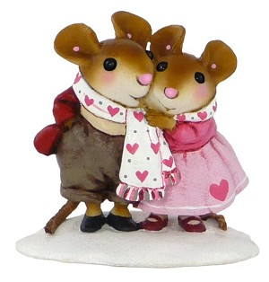 "Wee Forest Folk ""Lovers Knot"" Valentine"