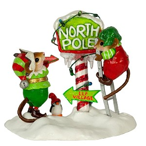 "Wee Forest Folk ""North Pole Elves"" Limited Edition"
