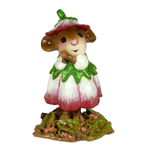 "WEE FOREST FOLK ""WEE FLOWER MOUSE OF THE MONTH"""
