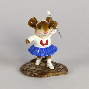 "Wee forest Folk ""Majorette"" Mouse Parade"