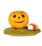 "Wee Forest Folk ""Miniature Jack O' Lantern & Candy Corn"" Orange"