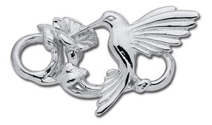 "Sterling ""Hummingbird"" Clasp"