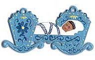 Baby in Cradle Ornament