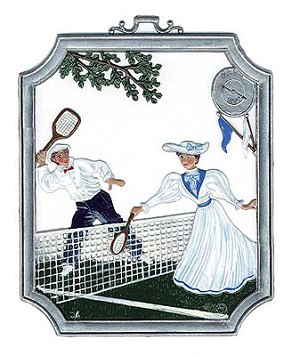 Tennis Wall Plaque