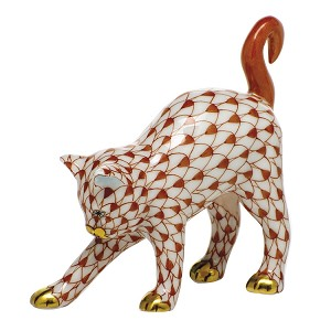 "HEREND ""ARCHED CAT"""