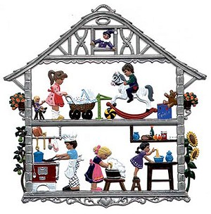 Children's House Wall Hanging