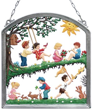 Spring Fun Wall Hanging